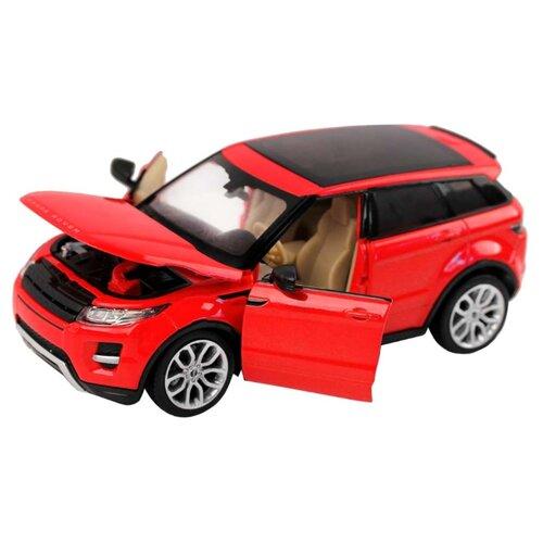 Купить Легковой автомобиль Автопанорама Range Rover Evoque (JB1200120) 1:24 18 см красный, Машинки и техника