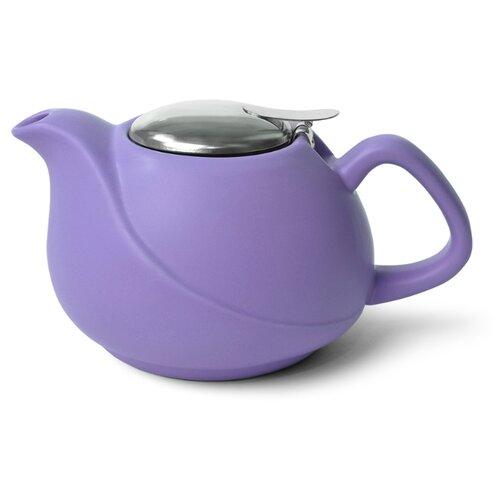 Fissman Заварочный чайник с ситечком 750 мл, лиловый недорого