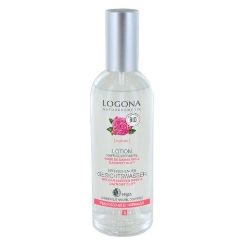 Купить Logona Тоник освежающий для лица c био-дамасской розой Refreshing facial toner, 125 мл