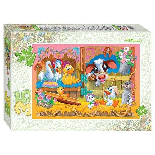 Пазл Step puzzle Любимые сказки Гадкий утёнок (91171), 35 дет.