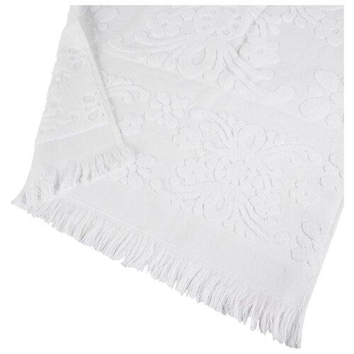 Arya Полотенце с бахромой Isabel Soft пляжное 100х150 см белый arya полотенце с бахромой isabel soft пляжное 100х150 см бежевый