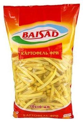 Байсад замороженный картофельные фри baisad 2500 г