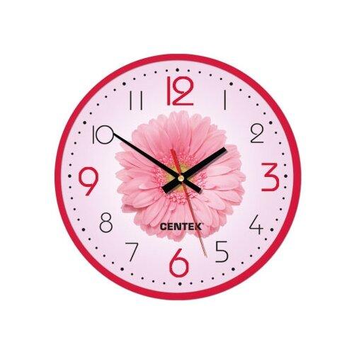 Часы настенные кварцевые CENTEK CT-7105 flower