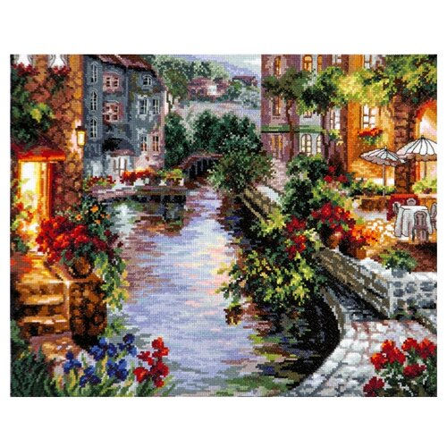 Чудесная Игла Набор для вышивания Вечер в Венеции 40 x 32 см (46-02)Наборы для вышивания<br>