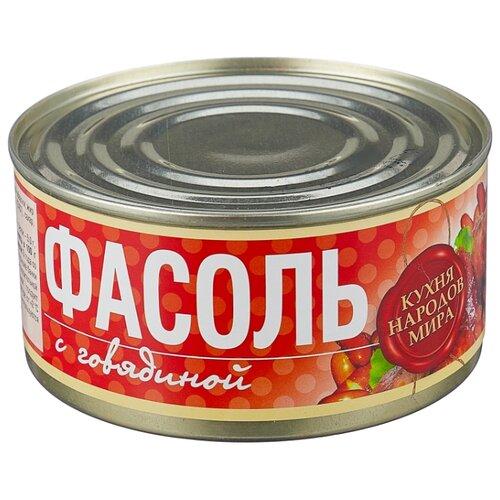 Рузком Фасоль с говядиной 325 г