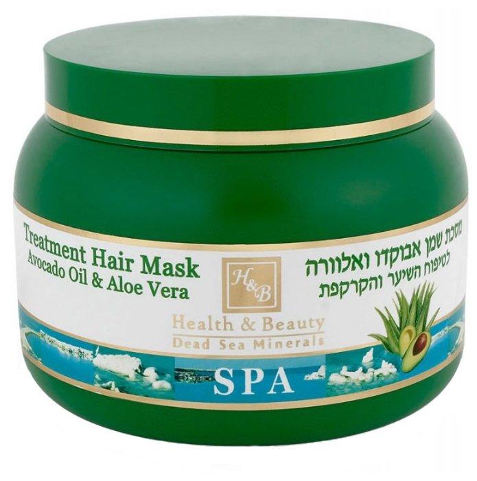 Health & Beauty Маска для волос с маслом авокадо и Алоэ Вера