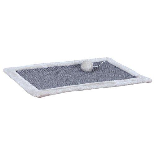 Когтеточка TRIXIE с бортиком 43110 55 х 35 см светло-серый