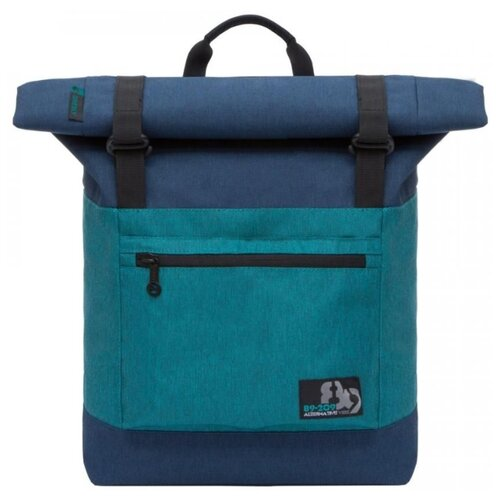 Рюкзак Grizzly RU-814-1 20 синий/бирюзовый рюкзак городской grizzly цвет синий ru 804 1 4