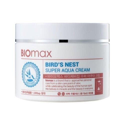 Biomax Bird's Nest Super Aqua Cream Крем для лица с экстрактом ласточкиного гнезда интенсивно увлажняющий 100 мл