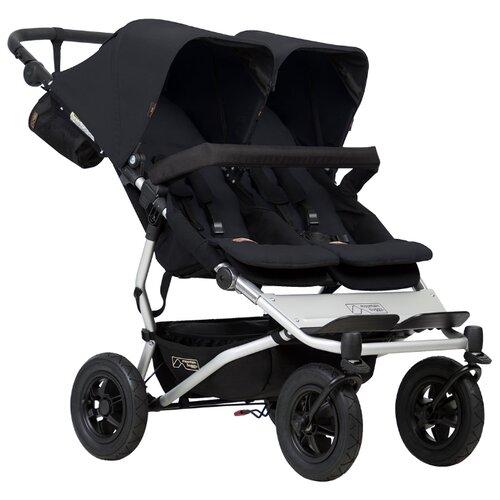 Прогулочная коляска Mountain buggy Duet чёрный buggy boom коляска для кукол buggy boom infinia трансформер салатовая