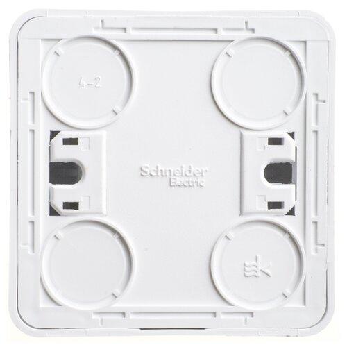 Фото - Переключатель (с 2-х мест) Schneider Electric BA10-004B,10А, белый переключатель с 2 х мест legrand etika 672205 10а белый