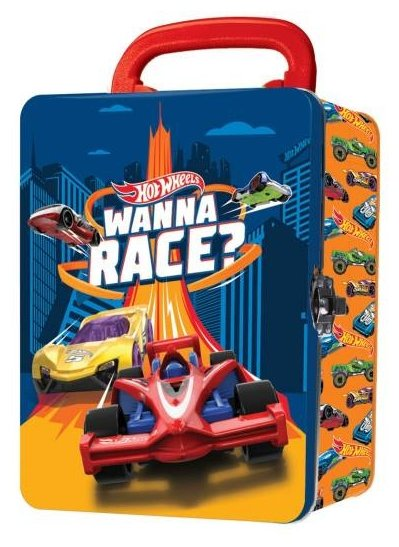 Кейс Mattel Hot Wheels для хранения 18 машинок