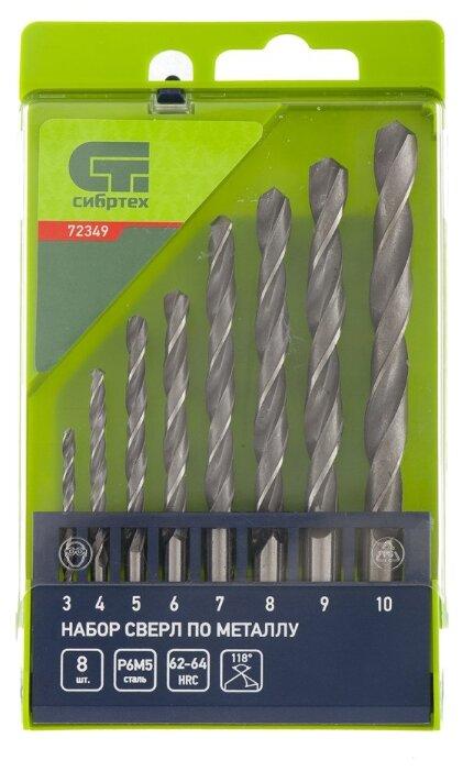 Набор сверл Irwin Pro 10502316 8.5 x 117 мм по металлу из 5 шт.