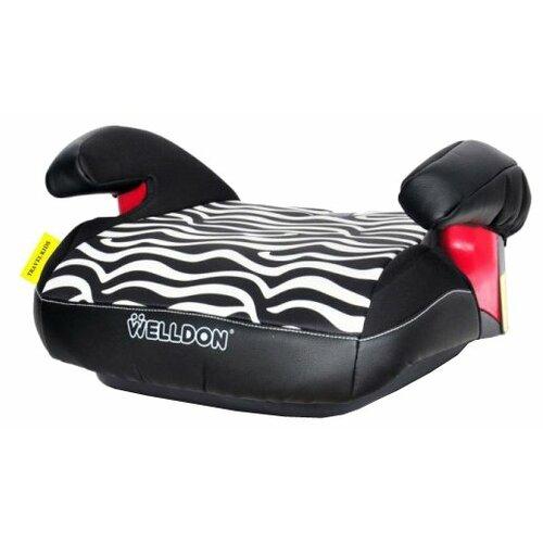 цена на Бустер группа 3 (22-36 кг) Welldon BS03, zebra