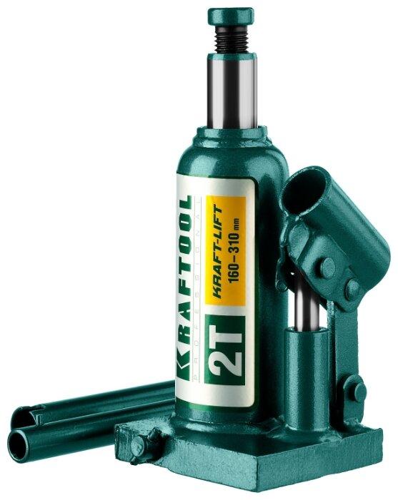 Домкрат бутылочный гидравлический Kraftool Kraft-lift 43462-2_z01 (2 т)