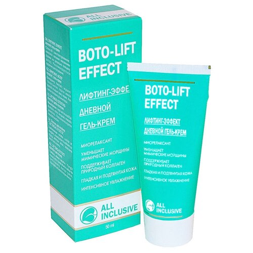 All Inclusive гель-крем для лица лифтинг-эффект дневной Boto-lift Effect, 50 мл