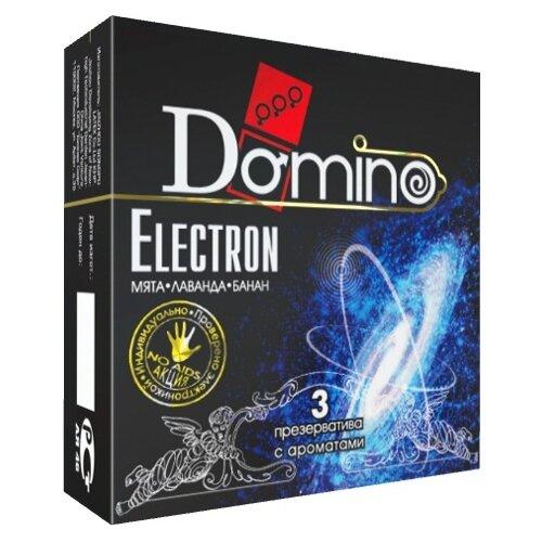 Презервативы DOMINO Domino Electron (3 шт.)