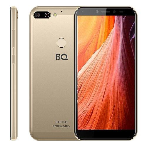 Смартфон BQ 5528L Strike Forward золотой смартфон