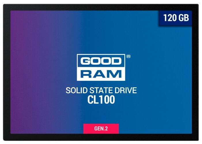 Твердотельный накопитель GoodRAM SSDPR-CL100-120-G2