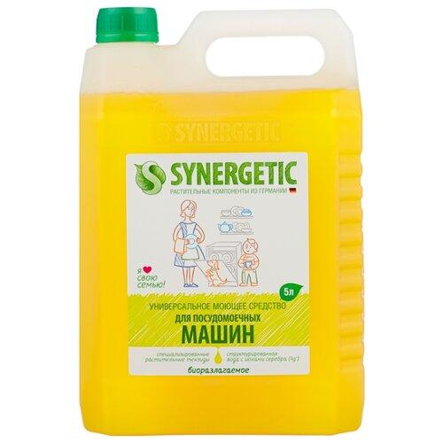 Synergetic универсальное моющее средство для посудомоечной машины 5 л pro brite mdw a 11 моющее средство для посудомоечной машины 5 л