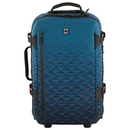 сумка планшет victorinox текстиль синий Сумка дорожная VICTORINOX Vx Touring на колесах, синий