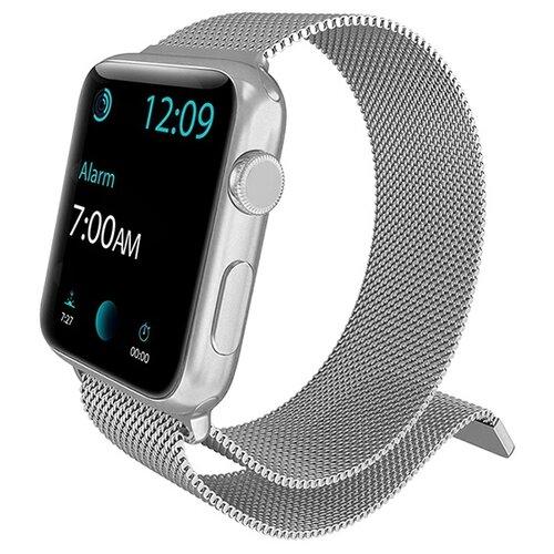 X-Doria Ремешок Mesh Band для Apple Watch 42/44mm серебристый