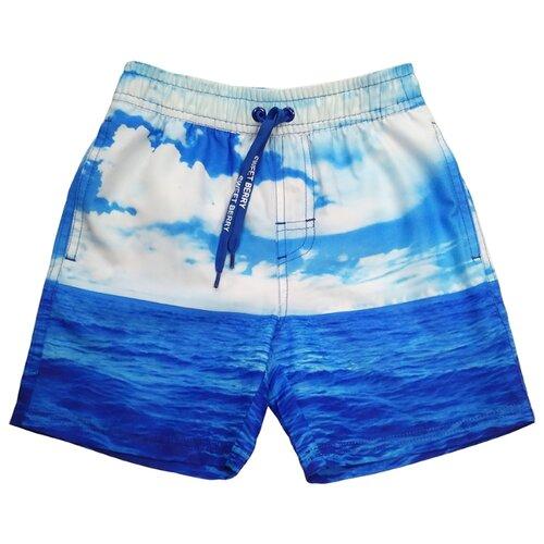 Купить Шорты для плавания Sweet Berry размер 104, синий, Белье и пляжная мода