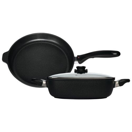 Набор посуды Swiss Diamond XD SET328 3 пр. черный набор посуды swiss diamond premium steel sd ps set l3