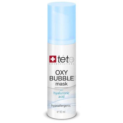 TETe Cosmeceutical Oxy Bubble Mask Кислородная пенная маска для лица, 30 мл набор ковриков для ванной quelle tete a tete 1018354
