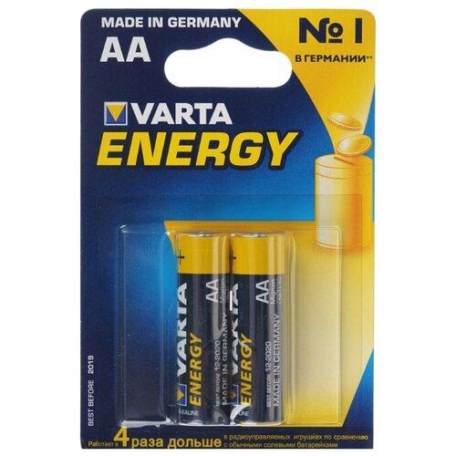 Фото - Батарейка VARTA ENERGY AA 2 шт блистер батарейка varta energy aa блистер 2шт
