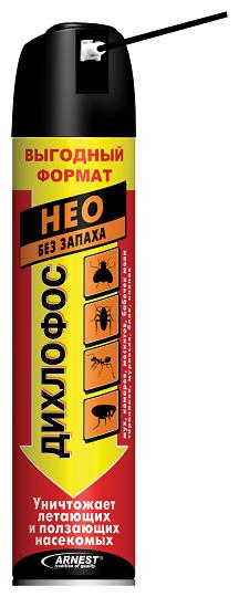 Аэрозоль Дихлофос Нео без запаха