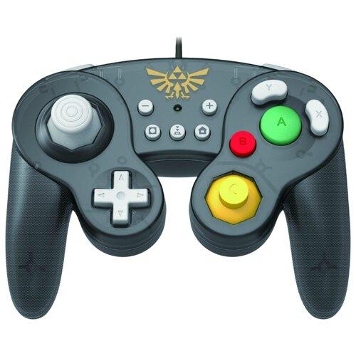 Геймпад HORI Battle Pad Zelda серый