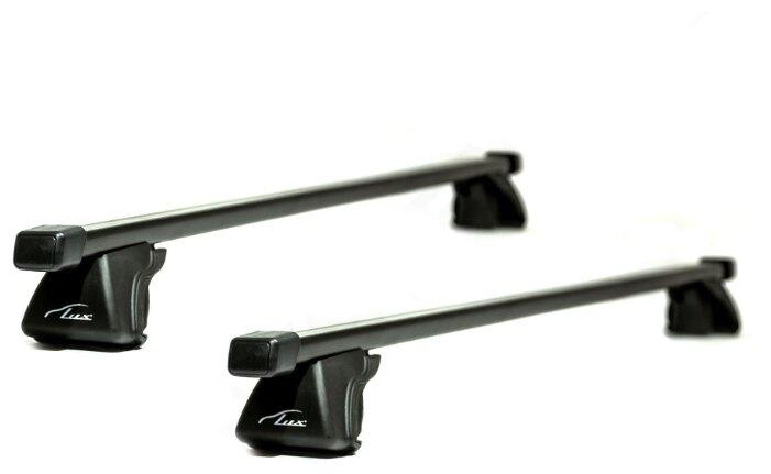 Купить Багажник Lux Классик Стандарт на рейлинги, 1.3 м черный по низкой цене с доставкой из Яндекс.Маркета (бывший Беру)