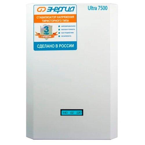 Стабилизатор напряжения однофазный Энергия Ultra 7500 фото