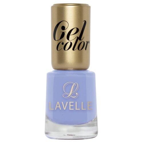 Лак Lavelle Gel Color 12 мл. 010 сиренево-голубойЛак для ногтей<br>