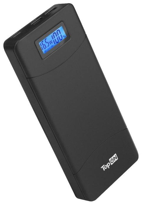 Универсальный внешний аккумулятор TopON TOP-T80/W для смартфонов, планшетов, цифровой техники, ноутбуков на 18000mAh (66,6 Wh) Белый Белый
