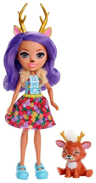Кукла Enchantimals Данэсса Оленни с любимой зверюшкой, 15 см, FXM75 — купить по выгодной цене на Яндекс.Маркете