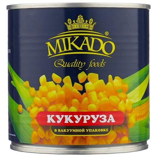 Кукуруза сладкая MIKADO жестяная банка 340 г mikado sms 011 1 0 г