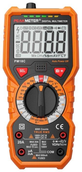 Мультиметр цифровой Peakmeter PM18C