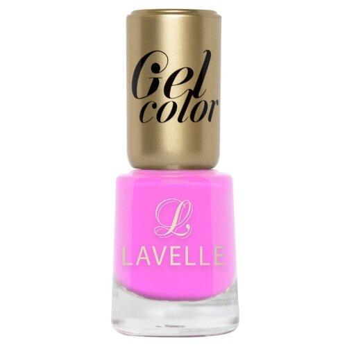 Лак Lavelle Gel Color, 12 мл, оттенок 016 фламингоЛак для ногтей<br>