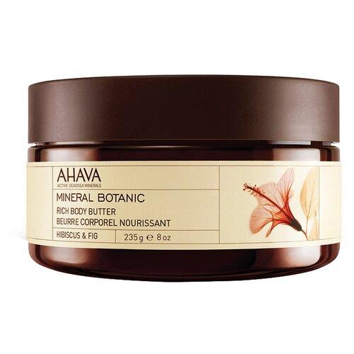 Масло для тела AHAVA Mineral Botanic насыщенное Гибискус и Фига, 235 г