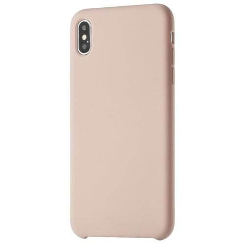 Чехол-накладка uBear Touch Case для Apple iPhone Xs Max light rose чехол накладка ubear touch case для apple iphone 7 iphone 8 cream