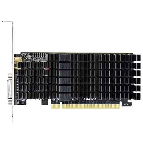 Видеокарта GIGABYTE GeForce GT 710 Silent LP 2GB (GV-N710D5SL-2GL) Retail