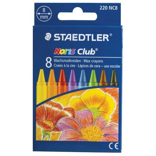 Купить Staedtler Восковые мелки Noris Club, 8 цветов, Пастель и мелки