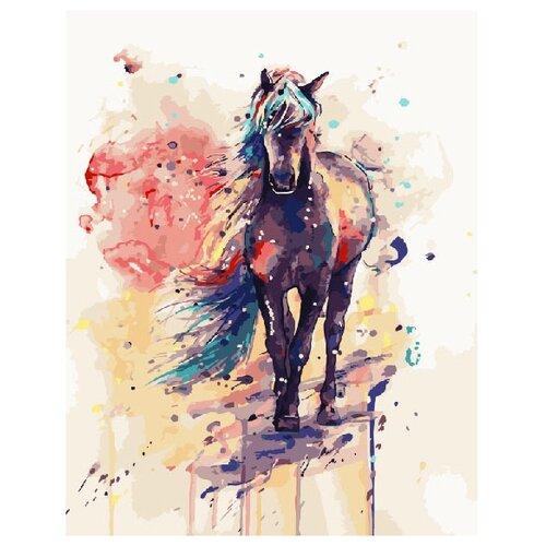 Купить ВанГогВоМне Картина по номерам Лошадка , 40х50 (ZX 20211), Картины по номерам и контурам