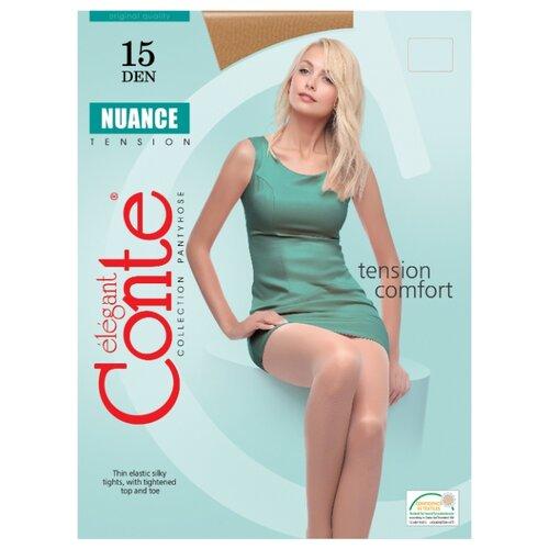 Фото - Колготки Conte Elegant Nuance 15 den, размер 3, bronz (коричневый) колготки conte elegant active soft 20 den размер 2 bronz коричневый