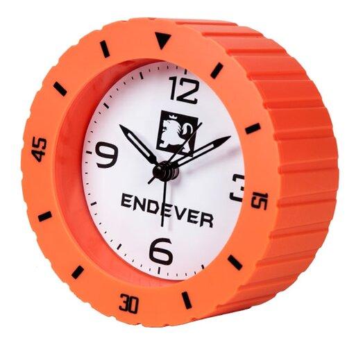 Часы настольные ENDEVER RealTime-90 оранжевый / белый