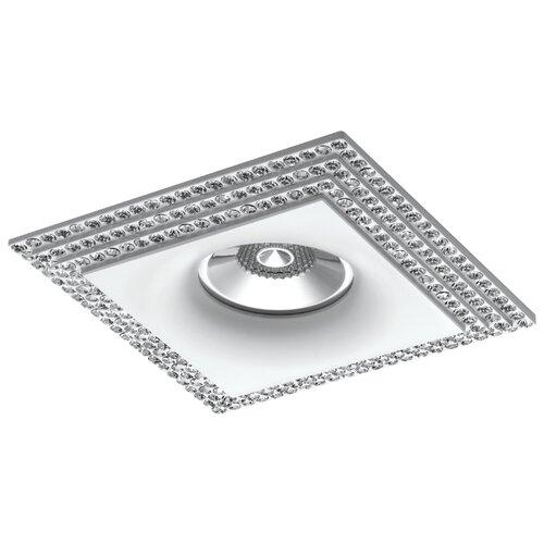 Встраиваемый светильник Lightstar Miriade 011986 светильник italline dl 2633 black