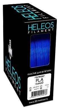 PLA пруток Heleos 1,75 мм синий