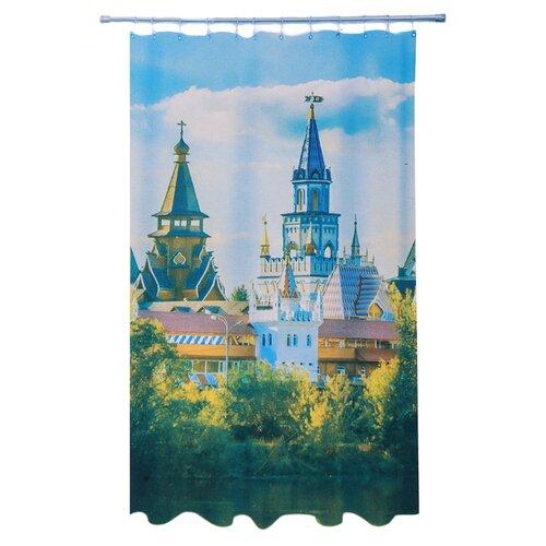 Штора для ванной Vetta 461-478 180х180 Кремль